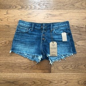 """Lucky Brand Jean Shorts """"The Cut Off"""""""